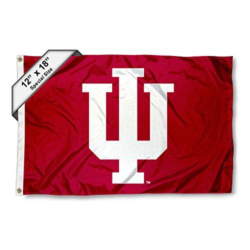 IU Hoosiers Golf Cart and Boat Flag