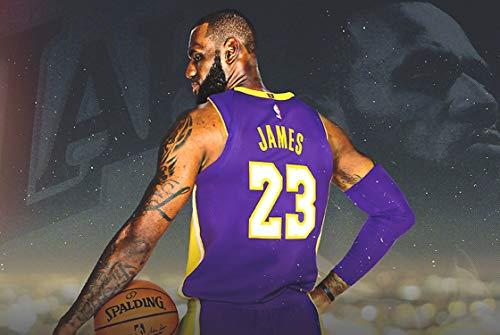 Poster Los Angeles Lakers Basketball - Lebron James Poster - Welcome Lebron - Los Angeles Lakers - 36