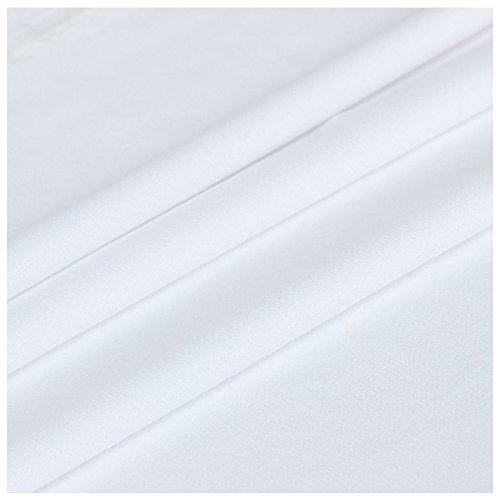 SODIAL Speaker Grill Cloth Stereo Gille Fabric Speaker Radio Mesh Cloth 1.7mx0.5m White 136463A2