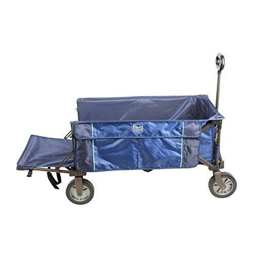 Timber Ridge Laburnum Tailgate Collapsible Folding Wagon, Blue [並行輸入品]   B07R6W6CJ2