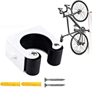 utuher Bike Clip, Wall-Mounted Bike Parking Buckle for Save Space Protects The Bike, Indoor Outdoor Mountain B