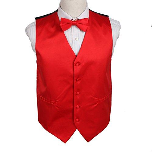 Red Tuxedo Vest - 7