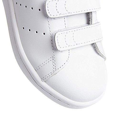 adidas Stan Smith Junior - Zapatillas Niños Blanco - Blanc (Running White/Running White/Fairwa