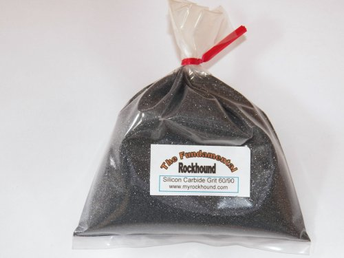 Fundamental Rockhound Products: 1 lb 60/90 Coarse GRIT for rock tumbling polishing rocks Silicon Carbide