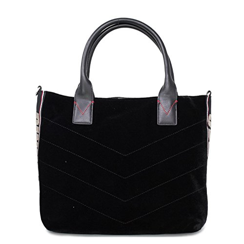 1h20hm Donna Pinko Trapuntato Y4pg Shopping Black Borsa Velluto Catria r5qHwqxYBR