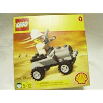 LEGO 2541 Shell Adventurers Egypt Set, Adventures Car/Buggy with Baron von Barron Minifig: Toys & Games