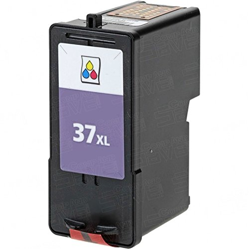 37xl High Yield Color - CompAndSave Replacement for Lexmark 37XL / 18C2180 High Yield Color Ink Cartridge