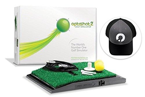 OptiShot 2 Golf Simulator (Simulator with Black Hat)