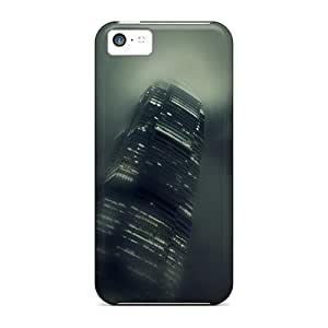 Awesome Skyscrapers At Night 2 Flip Case With Fashion Design For Iphone 5c