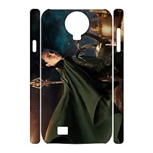 D-PAFD Cell phone Cases Thor Loki Hard 3D Case For Samsung Galaxy S4 i9500
