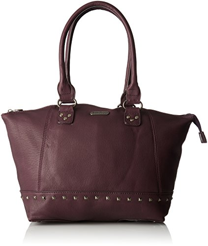 Little Marcel Do02, Sac porté épaule Violet (Burgundy)