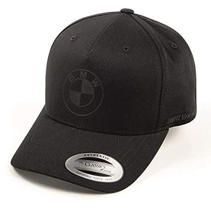 BMW - Gorra de béisbol para Motocicleta, Color Negro: Amazon.es ...