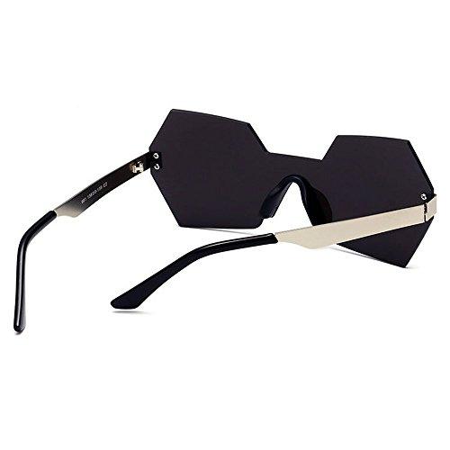 una viaja Gafas Pieza UV de Personalidad conducen C6 de de Mujeres Aire Sola al Sol de Color Gu Que Color Que Peggy la de de Forma Irregular C2 Protección Lente para Libre 6qfHnOP