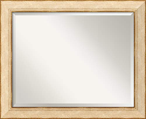 Amanti Art Framed Mirrors for Wall | Highland Park Cream Mirror for -
