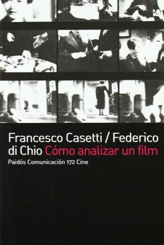 Descargar Libro Como Analizar Un Film Di Chio Casetti