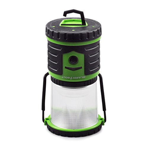 Blazin' Bison Brightest Rechargeable LED Lantern   400 Hour Runtime   Phone Charger   Hurricane, Emergency, Storm (400 Lumen, Green) by Blazin' Bison (Image #5)