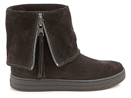 Women's Black Prada Boots 3T5867O53F0002 Ankle Suede YvBUq
