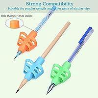 3PCS//set children pencil holder pen writing aid grip posture correction tool AGU
