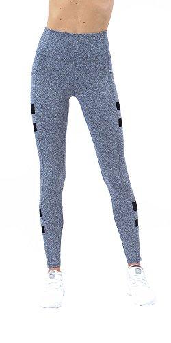 ec6cba879b X by Gottex Womens High Waist Dry Fit Yoga Sports Activewear Full Length  Legging with Pocket
