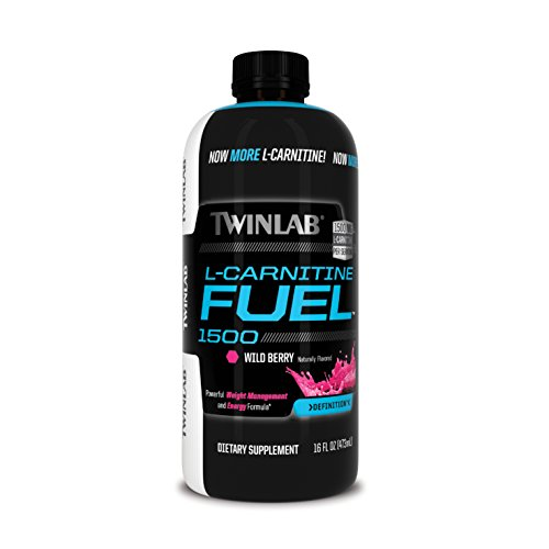 Twinlab L-Carnitine Fuel 1500, Wild Berry, 16 Fluid Ounce