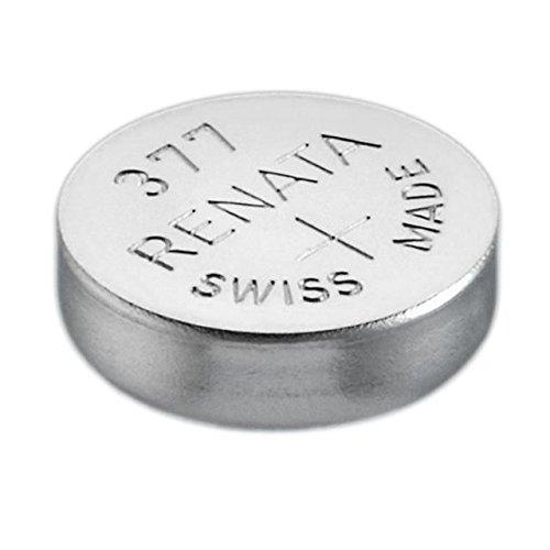 Renata 377 Vconcal 100 Uhrenbatterien, AG4, 626, SR626SW