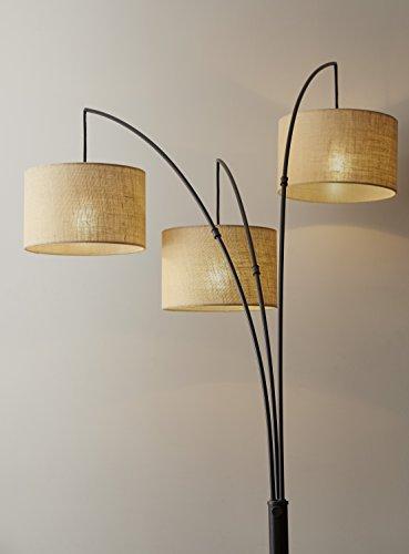 Adesso 4238 26 Trinity 82 Quot Arc 3 Light Floor Lamp Antique
