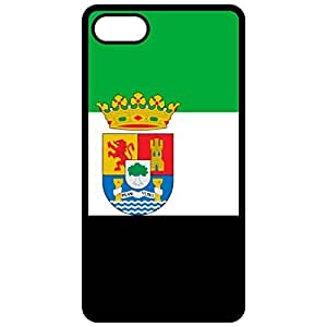 Extremadura Flag - Black Apple Iphone 5c Cell Phone Case - Cover