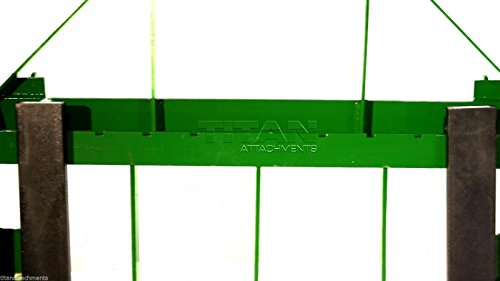 "Titan 42"" Pallet Fork Attachment fits John Deere 200,300,400,500 Loaders"