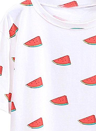 Futurino - Camisas - para mujer Sandía