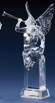 Icy Crystal Led Lighted Angel in US - 7