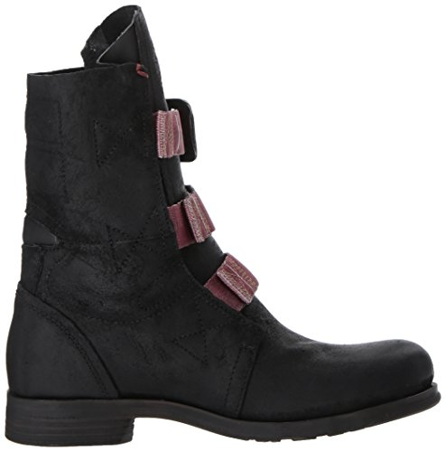 Boots Womens Stif London 37 Black EU Fly Leather qUgCxX