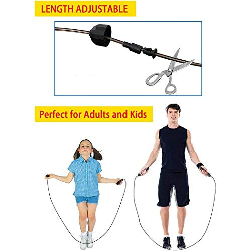 UpBeauty Durable Adjustable Bearing Skipping Rope Fitness Aerobic Exercise Tool Training Equipment