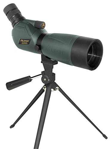 Alpen Optics 20-60x60 w/45 deg eyepiece Waterproof Fogproof Spotting Scope by Alpen Optics