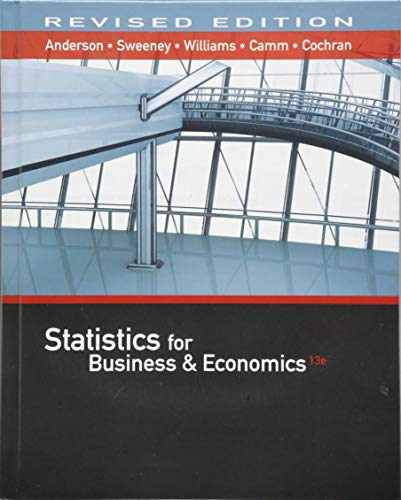 Statistics for Business & Econom...