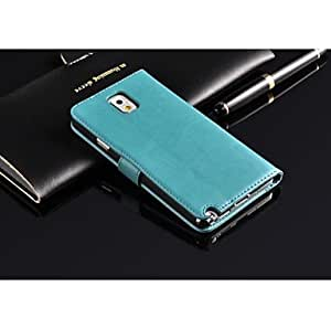 HJZ Luxury Pu Leather Case for Samsung Galaxy Note3 N9000,Note3 Leather Case,Pu leather case for Samsung Note3 , White