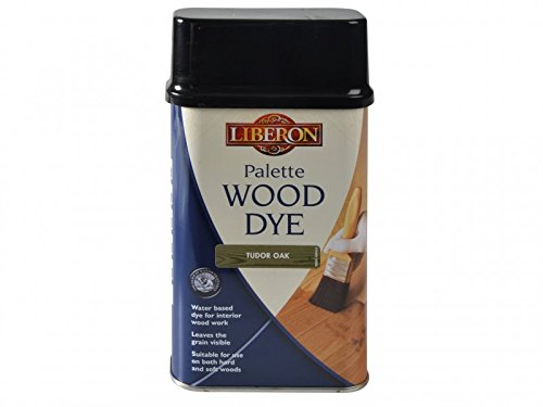 Liberon Water-Based Palette Wood Dye Tudor Oak 500ml