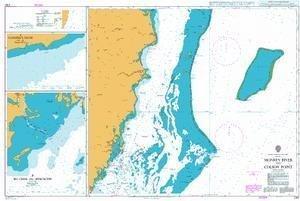 Ba Diagramm 1797  Affe River bis Colson Punkt by United Kingdom Hydrographic Büro