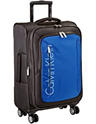 Calvin Klein Tremont 21 Inch Upright Carry-On Suitcase, Blue, One Size