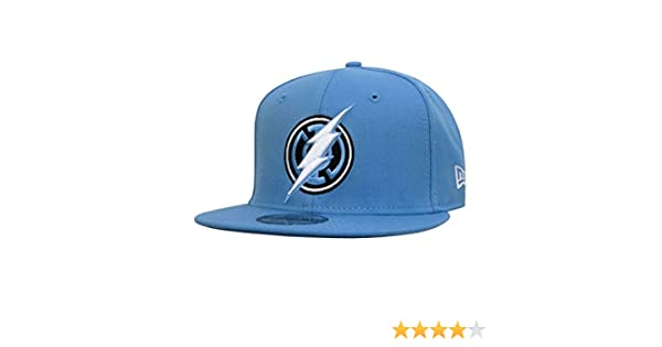 ad7ab20c2d3bb4 Blue Lantern Flash Symbol 9Fifty Snapback Hat at Amazon Men's Clothing  store:
