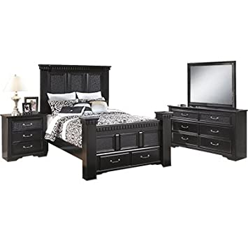 Signature Design by Ashley Cavallino Bedroom Set with Queen Bed ...