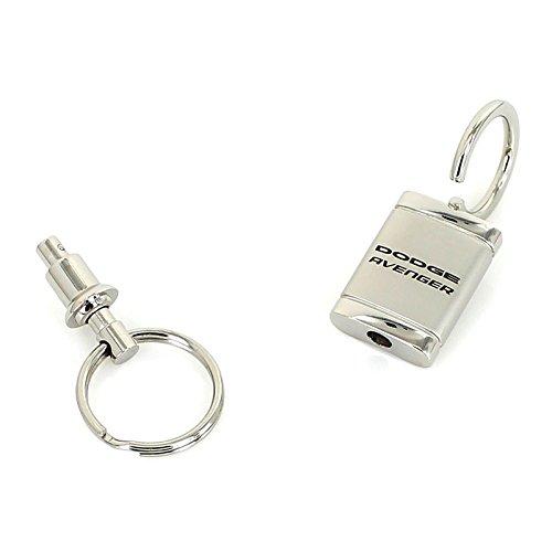 Dodge Avenger Satin Chrome Valet Keychain