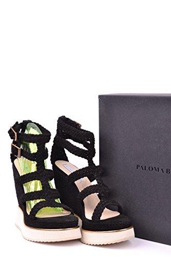 pt885 Paloma Noir Donna Barcelo Chaussures noir AdqfAP