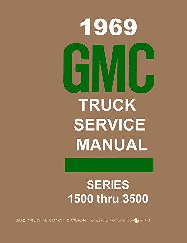 1969 GMC 1500-3500 Truck Shop Service Repair Manual Book Engine Drivetrain Gmc 3500 Truck Manual