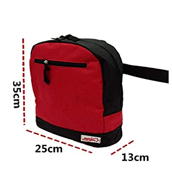 Amazon.com: Wheelchair Bag, Accessory Storage Bag for Carrying Loose Items & Accessories, Travel Storage Tote & Backpack, Red: Health & Personal Care