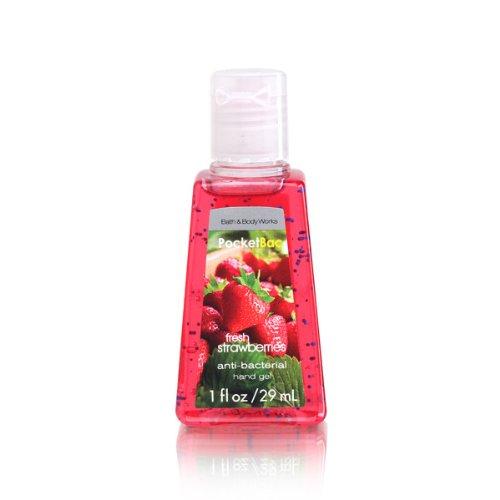 Bath & Body Works PocketBac Hand Gel Sanitizer Fresh Strawberries