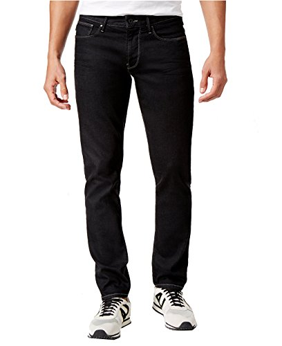 ARMANI JEANS Men's Slim-Fit J06 Jeans (38W x 32L, Black) by ARMANI JEANS