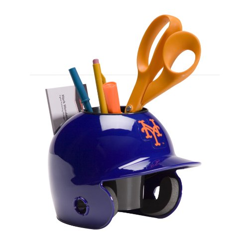 Schutt MLB Desk Caddy Porta lápices para escritorio de MLB New York Mets