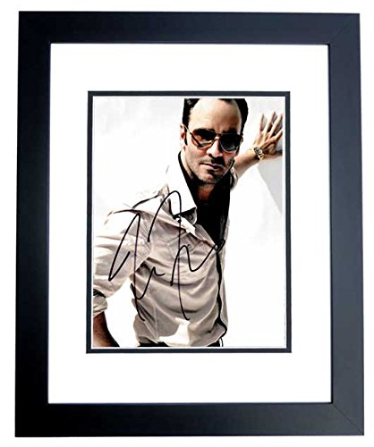 Tom Ford Signed - Autographed Nocturnal Animals Director - Fashion designer 8x10 inch Photo - BLACK CUSTOM Frame - Guaranteed to pass PSA or - Ford Tom Picture