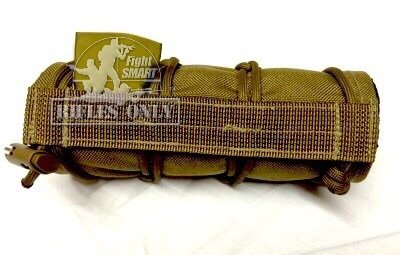 "Rifles Only MAD 9"" Suppressor Cover (Coyote Brown)"