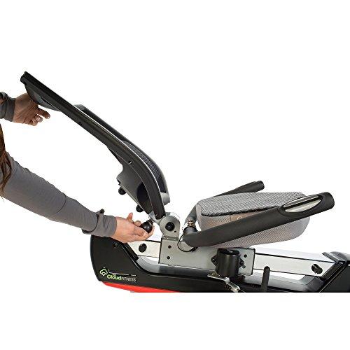 IRONMAN Triathlon X-Class 410 Smart Technology Recumbent Bike with Bluetooth, Air Soft Seat and Adjustable Backrest